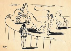 Iliu Joseph - Scène de cirque n° 4