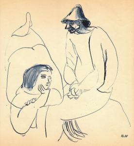 Iliu Joseph - Une femme et un homme n° 2