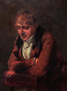 """BOILLY Louis Léopold, Attribué à - """"PORTRAIT PRÉSUMÉ DE JOSEPH CHINARD"""""""