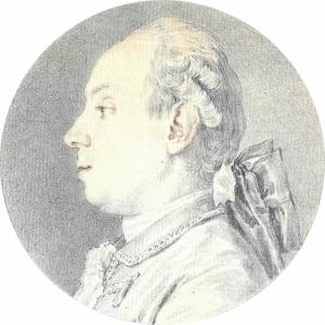 "COCHIN Charles-Nicolas - ""PORTRAIT D'HOMME"""