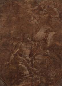 ECOLE ITALIENNE (début du 17e siècle) - SAINT JÉRÔME