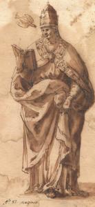 MUZIANO Girolamo  - SAINT GRÉGOIRE LE GRAND