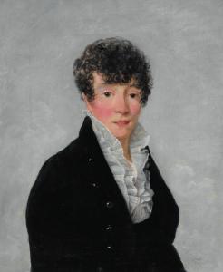"""SABLET Jean-François - """"PORTRAIT DE JEUNE HOMME"""""""