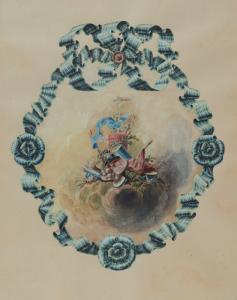 """SAINT-AUBIN Charles Germain de - """"PROJET DE DÉCORATION"""""""