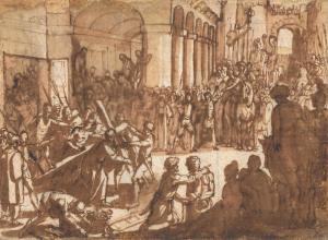 TEMPESTA Antonio - LE CHRIST PORTANT LA CROIX