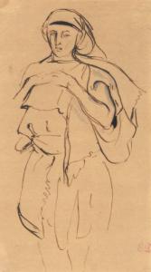 "DELACROIX Eugène - ""JEUNE ORIENTAL"""