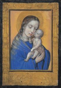 """École du nord - """"VIERGE À L'ENFANT"""""""