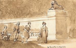 """FONTAINE Pierre François Léonard - """"DEUX CARNETS"""""""