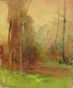 "RAVIER François Auguste - ""SOUS-BOIS"""
