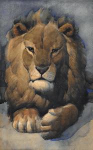 """CIPRA Jean Camille - """"TÊTE DE LION"""""""
