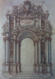 """ÉCOLE DU NORD - """"PROJET D'ARCHITECTURE POUR LE PAPE CLÉMENT IX"""""""