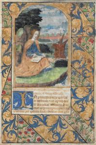 """ÉCOLE FRANÇAISE, VERS 1550 - """"SAINTE MARTHE"""""""